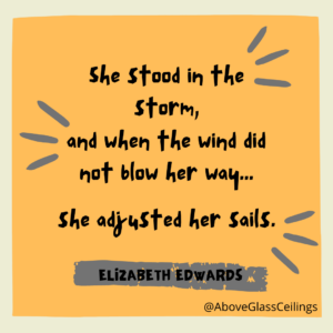 Adjusted Her Sails Quote