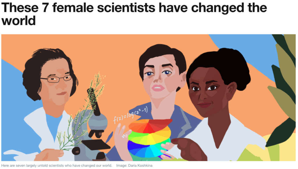 The gender gap in science, technology and innovation translates to missed talent, untapped discoveries and biased solutions. -World Economic Forum